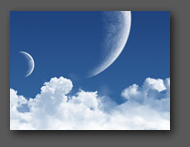 Clouds and Moons
